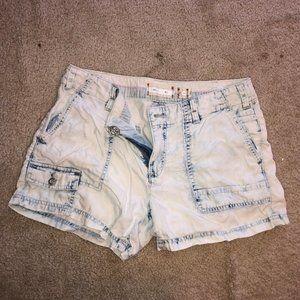 Antropologie Hei Hei White Wash Cloth Shorts